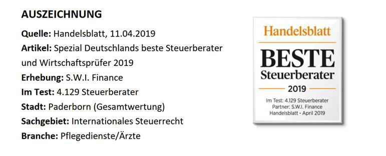 PBS | Beste Steuerberater